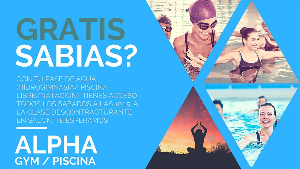 Alpha Gym Piscina Hidrogimnasia